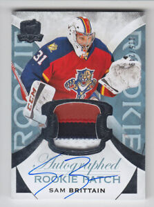 2015-16-UD-THE-CUP-SAM-BRITTAIN-RC-PATCH-AUTO-015-249-ROOKIE-3C-143-Panthers