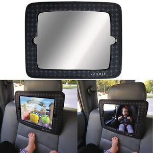 JJ-Cole-USA-Baby-Spiegel-iPad-Halter-Auto-Kopfstuetze-Tablet-iPadhalter-neu
