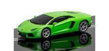 C3660 Scalextric 1:32 Slot Auto de Carreras Verde Lamborghini Aventador LP 700-4
