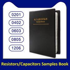 02010402060308051206 Smdsmt Resistorscapacitors Samples Book Assorted Kit
