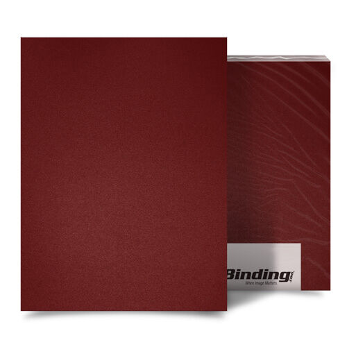 """New Maroon 16mil Sand Poly 8.5/"""" x 11/"""" Binding Covers Free Shipping 25pk"""