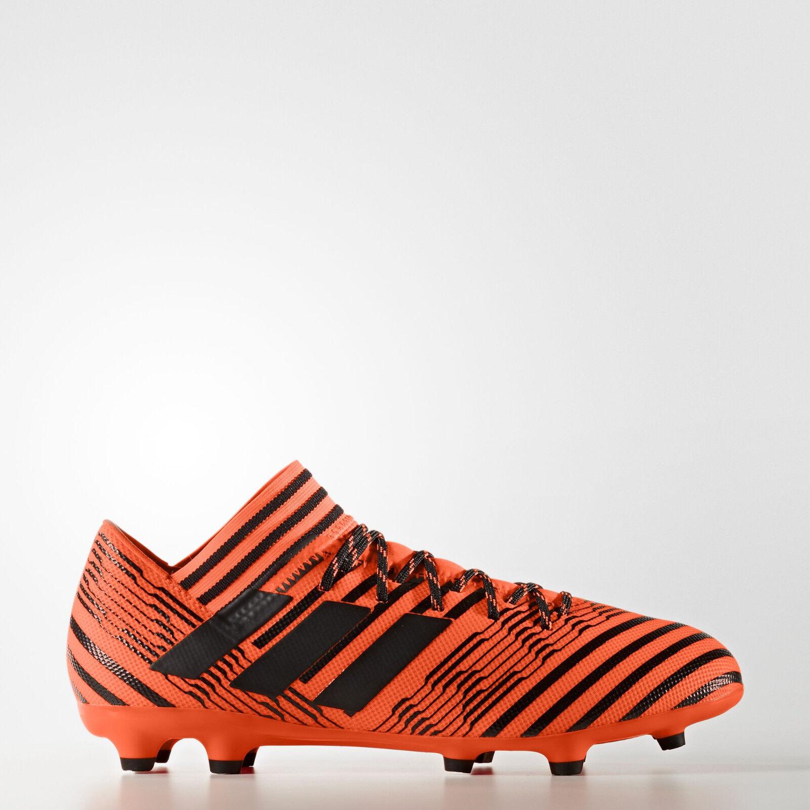 adidas Cleat Men's Nemeziz 17.3 FG Cleat adidas (Solar Orange/Black/Black) S80604* e7e894