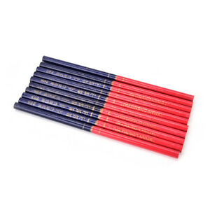 10x-HB-Double-Colors-Carpenters-Pencils-For-DIY-Builders-Joiners-Woodworking-D