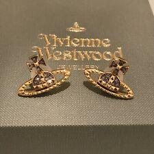 433a119c2 item 1 VIVIENNE WESTWOOD Mayfair Bas Relief Earrings - Gold / Gunmetal  -VIVIENNE WESTWOOD Mayfair Bas Relief Earrings - Gold / Gunmetal