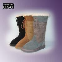 Big Clearance Sale - Australia Shearers Ugg Sheepskin Tall Boots Cardy