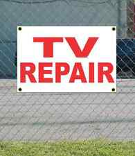 2x3 TV REPAIR Red & White Banner Sign NEW Discount Size & Price FREE SHIP
