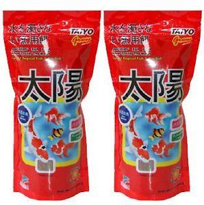 Taiyo-Fish-Food-Pouch-Aquarium-034-2-X-100g-034