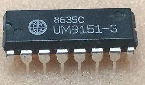 1-pc-UM9151-3-UMC-DMTF-TELEFON-DIALER-IC-DIP16-NOS