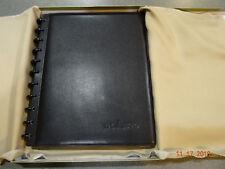Ypowpo Levenger Circa Leather Foldover Notebook Nos