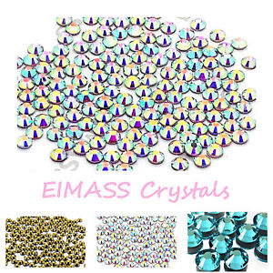 1440-x-EIMASS-7767-Hotfix-Low-Price-Premium-DMC-Glass-Crystals-Flat-back-Gems