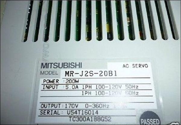 1Pcs Used Mitsubishi MR-J2S-20B1 tr