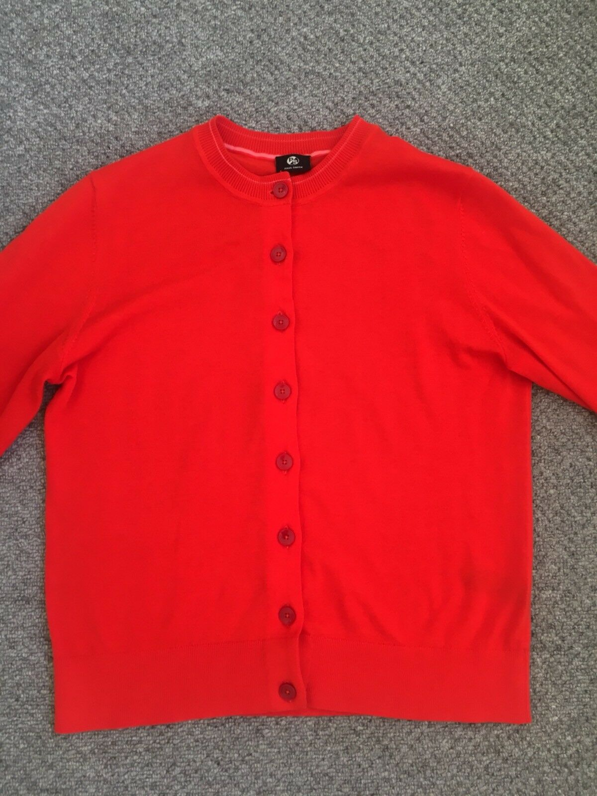 Paul Smith Smith Smith Rosso Donna Cardigan 46c04b