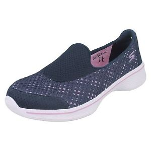 ragazze-Skechers-81118-Go-Walk-4-Kindle-sportive-Slip-On