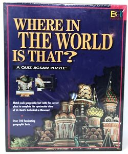 NEW-Where-in-the-World-Is-That-A-Quiz-Jigsaw-Puzzle-St-Basil-039-s-Cathedral-Moscow