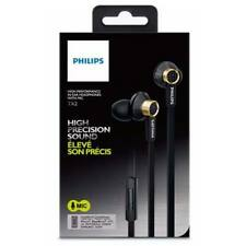 Philips TX2BK/00 de alto rendimiento In-Ear Headphones con micrófono-Negro