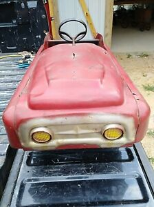 Old-Bmc-Pedal-Car-fair-Condition-Need-Restored-Sold-As-Is-No-Returns-Or