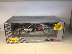RARE-Maisto-GT-RACING-MERCEDES-CLK-GTR-1-18-DIE-CAST-GIALLO-SPECCHIO-Edition