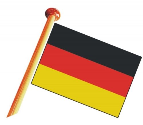 BRD Bootsflagge Fahne Flagge Deutschlandflagge 70 x 100 cm