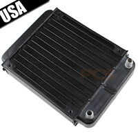 Aluminum Heat Exchanger Radiator For Pc Cpu Co2 Laser Water Cool System Computer