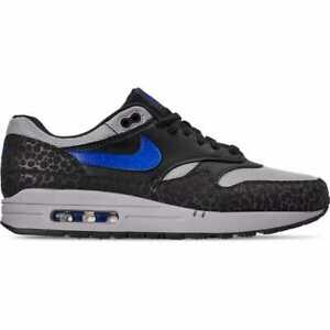 Details about Nike Air max 1 SE Reflective 3M Safari Off Noir Hyper Blue BQ6521 001 AB