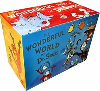 The Wonderful World of Dr. Seuss 20 Books Box Set Pack Collection ABC, One Fish