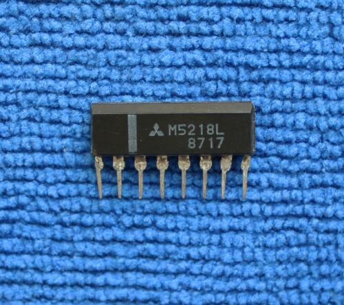 5pcs M5218L ZIP-8 OP-AMP DUAL Bipolar SIP 8Pin Plastic