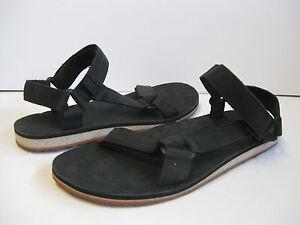 6c66cb76013 Image is loading Teva-Original-Universal-Premium-Leather-Men-Sandal-Black-