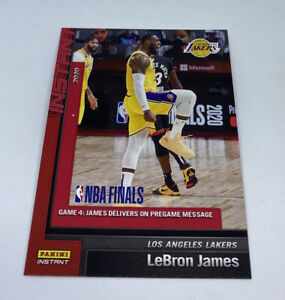 2019-20-LOS-ANGELES-LAKERS-PANINI-INSTANT-NBA-CHAMPIONS-25-LEBRON-JAMES-GAME-4