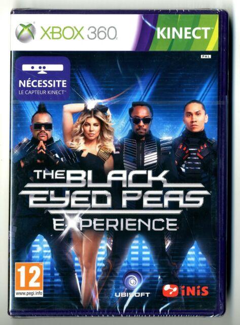 JEU XBOX 360 ★ THE BLACK EYED PEAS EXPERIENCE ★ NEUF SOUS BLISTER ★ UBISOFT