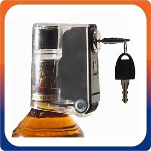 catalyst tantalus liquor wine bottle security lock for home use individual key ebay. Black Bedroom Furniture Sets. Home Design Ideas