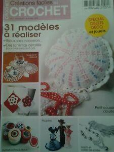 Détails Sur Catalogue Crochet Creations Faciles N2 Bijoux Poupee Sac Boite Gilet