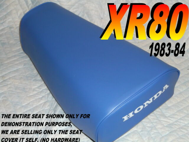 XR80 XL80 Replacement seat cover for Honda XR XL 80 1983-85 Blue 50B
