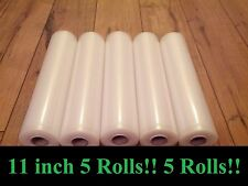 """5[Five]11""""x18' rolls for use in all universal FOODSAVER &other Vacuum Sealer bag"""