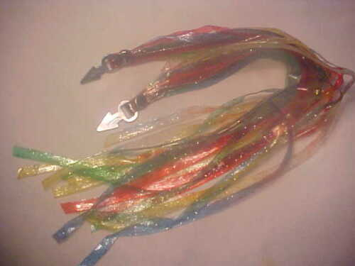Vintage Bicycle Streamers Glitter Red Green Blue Schwinn Huffy Murray AMF nos