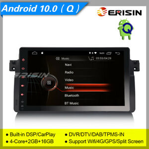 DSP-Android-10-BMW-E46-Autoradio-318-320-325-DAB-GPS-TPMS-TNT-DVR-CarPlay-9-034-4296