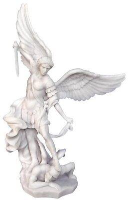 14.5 Inch Archangel Michael Statue Figurine Figure San Saint Angel St Miguel
