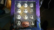 Nightmare Before Christmas 12 faces of Jack Glow-in-the-Dark Heads Jun Planning