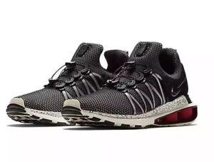 3012945333ab22 Nike Shox Gravity AR1999-006 Black White Red Men s SZ 10 Running ...