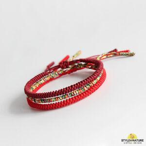 ein seil armband buddhistischen knoten aus handarbeit aus seide tibetisch
