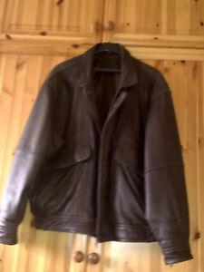 Details zu Herren Lederjacke YORN von Leather & Furs Größe 28 (52 53 zwischen Größe)