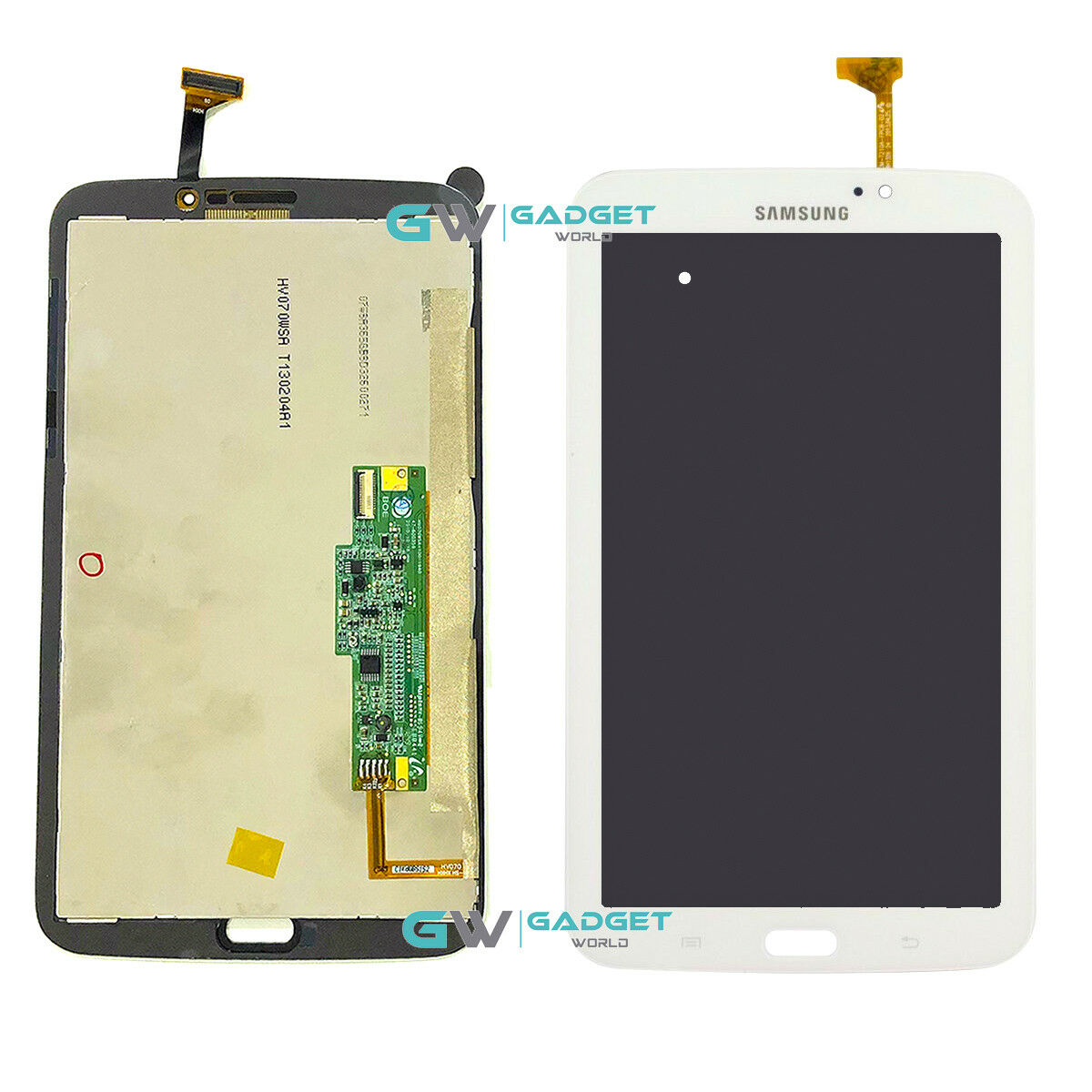 "Samsung Galaxy Tab 3 7.0/"" SM-T210 Touch Screen Digitizer Glass Panel White"