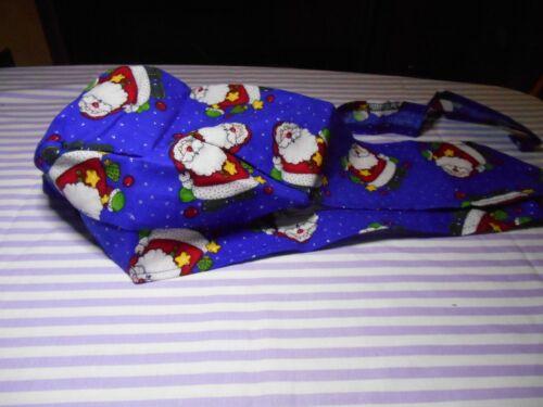 Skullcaps Blue Santa Sparkle Christmas Margie/'s Doo-rags