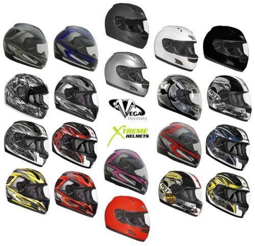 Vega Altura Helmet Full Face Motorcycle DOT ECE S M L XL 2XL