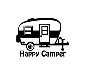 Image Is Loading Happy Camper Decal For Yeti Tumbler Water Bottle