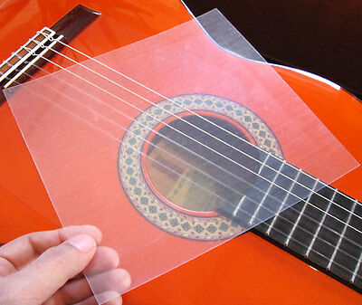 Golpeador Schlagschutz guitar Flamenco Gitarre scratchplate transparent