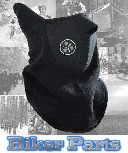 Schwarz Windschutz Motorrad Helm Thermo Schal Halsrohr Wärme
