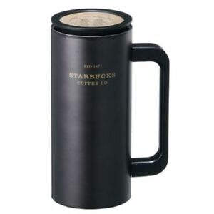 4be7ed4ed72 Details about Starbucks Korea SS Black Heritage Newton Cold Cup Tumbler,  Tall 12oz (355ml)
