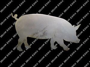 Pig-Hog-Metal-Wall-Art-BBQ-Smoker-Ornament-Decoration-Sign-Farm-Kitchen-Decor
