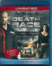 DEATH RACE (Blu-ray Disc, 2008, 2-Disc Set, Unrated)