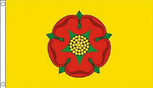 LANCASHIRE-FLAG-5-x-3-Flags-Red-Rose-England-County
